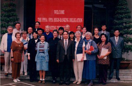 Bộ Y Tế đón phái đoàn Liên hiệp gia đình Hoa Kỳ tại Hà Nội