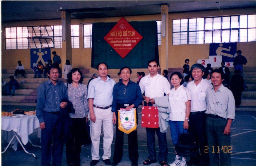 Ngày hội thể thao chào mừng kỷ niệm 20 năm thành lập đảng bộ khối cơ quan khoa giáo Trung Ương
