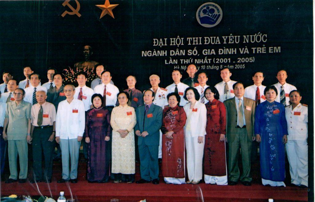Phó chủ nhiệm ủy ban dân số, gia đình và trẻ em Việt Nam chủ trì đại hội