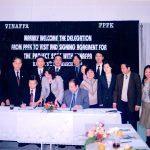 VINAFPA ký kết hợp tác với PPFK tổ chức chăm sóc sức khỏe  của Hàn Quốc