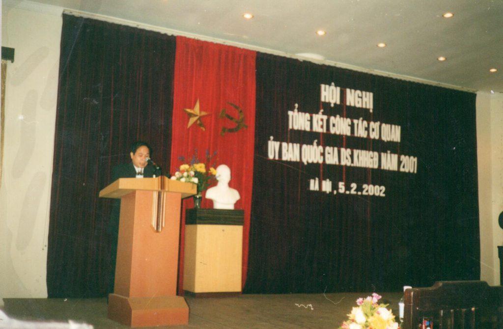 Ông Nguyễn Thiện Trưởng, phó chủ nhiệm ủy ban phát biểu tại buổi lễ tổng kết