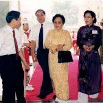 VINAFPA đón tiếp Phó chủ tịch nước Nguyễn Thị Bình
