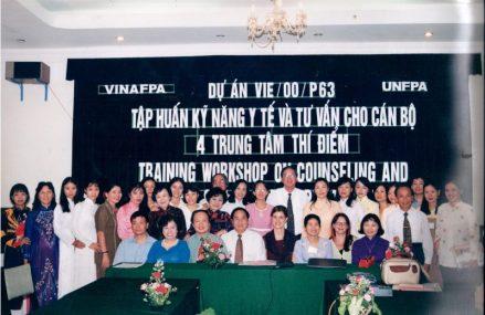 Quỹ dân số thế giới UNFPA tập huấn kỹ năng y tế cho Việt Nam