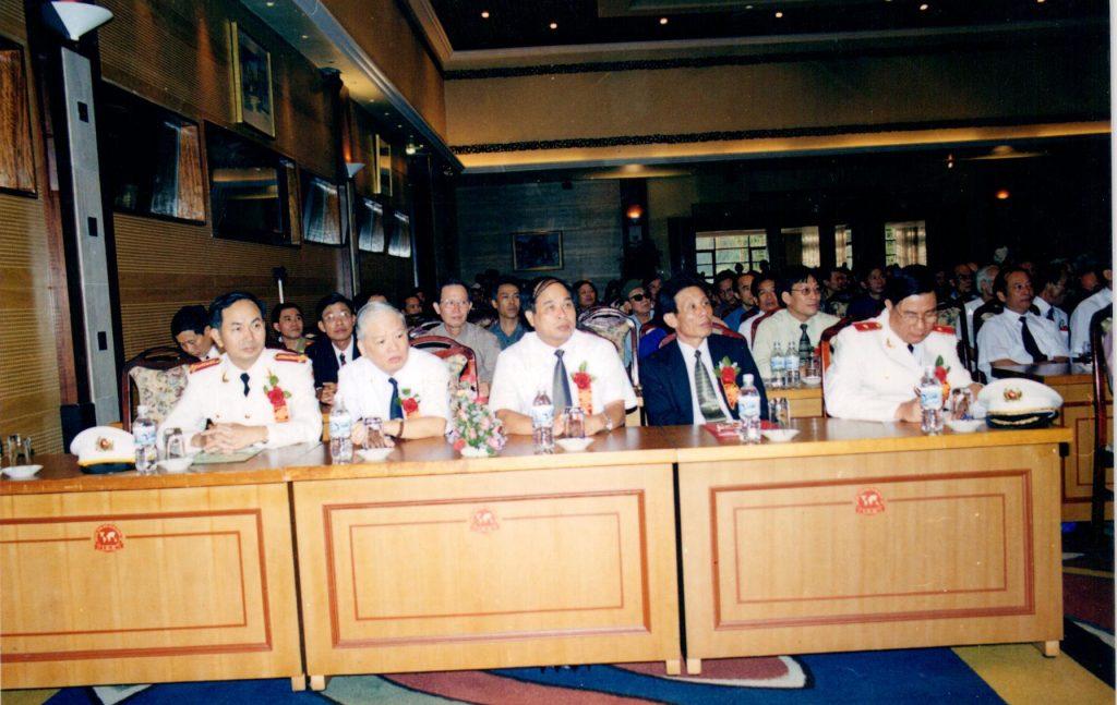 Đại hội thi đua yêu nước ngành An Ninh, thứ trưởng Nguyễn Thiện Trưởng là đại biểu khách mời danh dự của đại hội