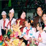 Phó chủ tịch nước Trương Mỹ Hoa tham gia hoạt động vì trẻ em
